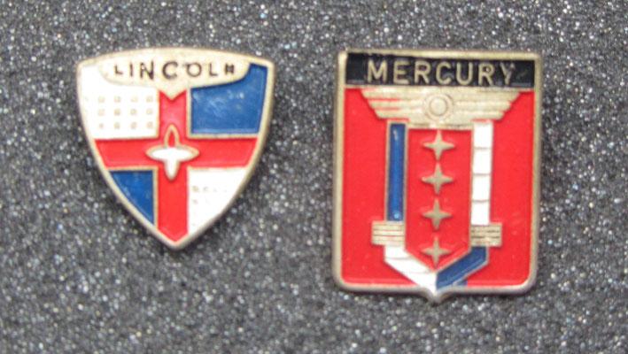 Lincoln en Mercury speldjes.