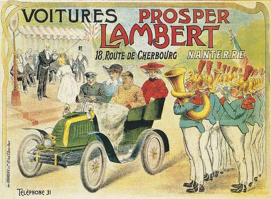 Reclame Prosper Lambert.