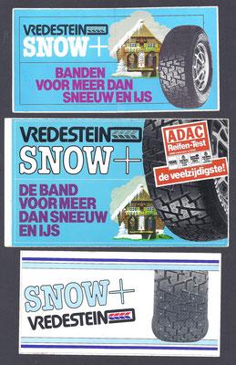 Stickers van Vredestein.