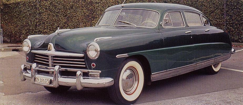 Hudson Commodore uit 1948.
