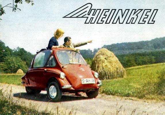 Een advertentie voor de Heinkel 150.