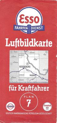 Luftbildkarte für Kraftfahrer, Esso Fahrten-Dienst, Plan 7 (vóór 1940).