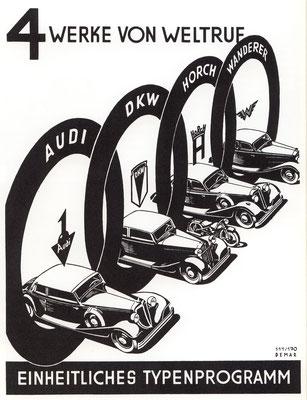 Advertentie van Auto Union.