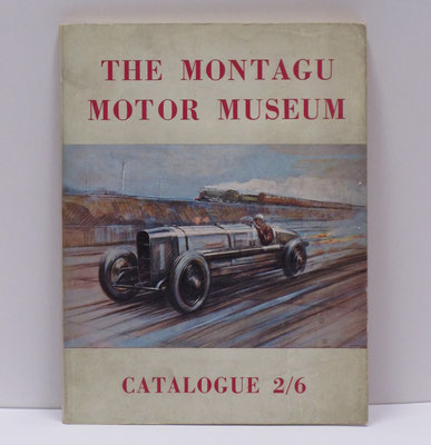 Catalogus the Montagu Motor Museum uit 1959.