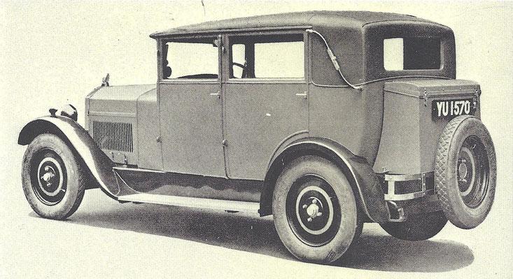 Een Mathis Emysix uit 1928.