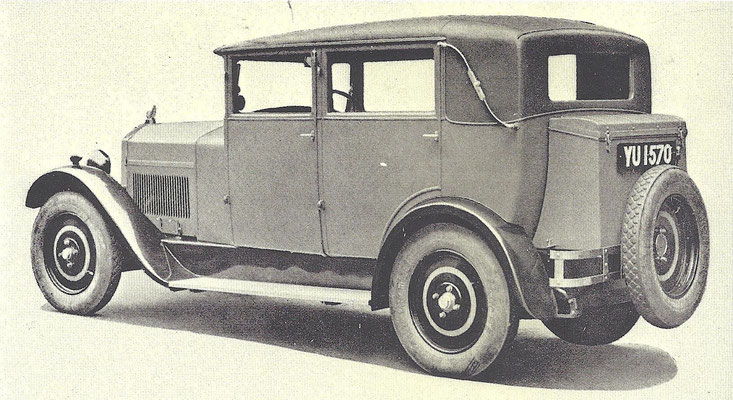 Mathis Emysix uit 1928.