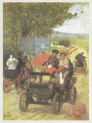 Affiche van De Dion-Bouton.