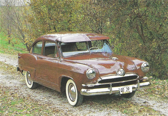 Kaiser, type Henry J uit 1952.