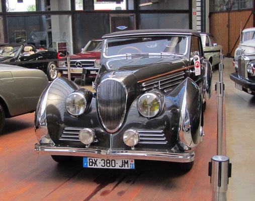 Delahaye met een carrosserie van Franay. (Classic Remise Düsseldorf)