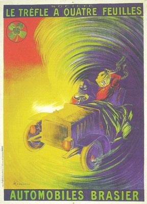 Affiche van Brasier.