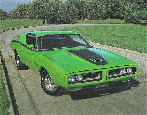 Dodge Charger uit 1971.