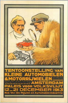 Een affiche voor de RAI 1913.