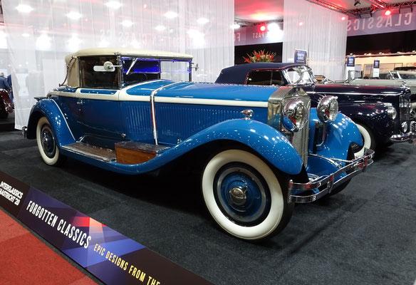 Isotta Fraschini Tipo 8A uit 1929 met een Roadster carrosserie van Castagna. (Interclassics Maastricht 2020)