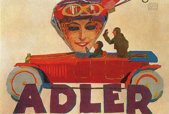 Reclame van Adler.