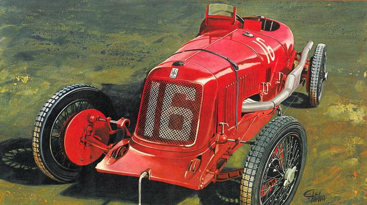 Maserati uit 1928.