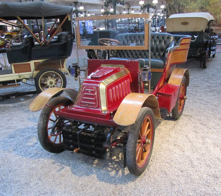 De Dion-Bouton Tonneau Type O uit 1902 (Collection Schlumpf).