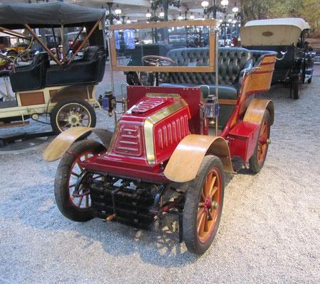 De Dion-Bouton Tonneau Type O uit 1902 (Collection Schlumpf).