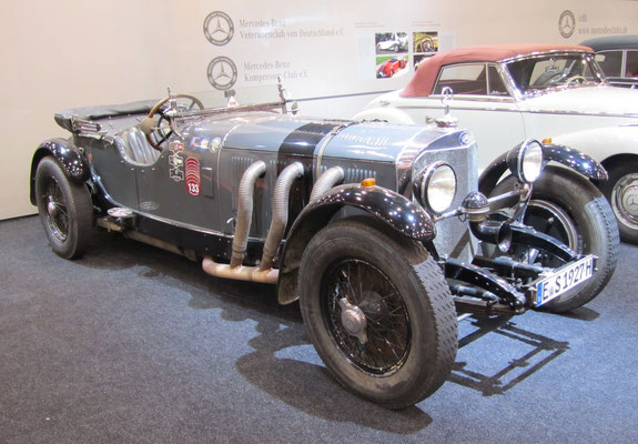 Een Mercedes-Benz op de Techno Classica 2015 in Essen.