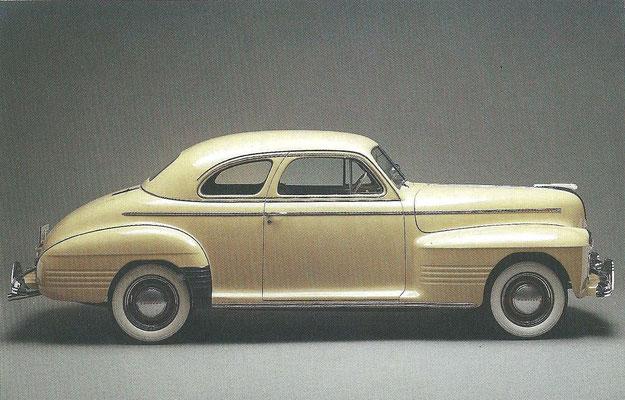 Een Pontiac Coupé uit 1941.