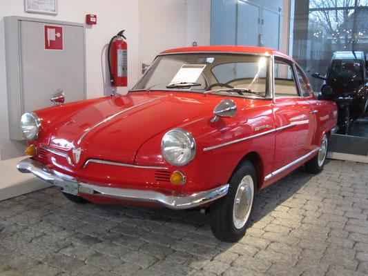 NSU Sport Prinz Bertone uit 1966. (Gallery Aaldering)