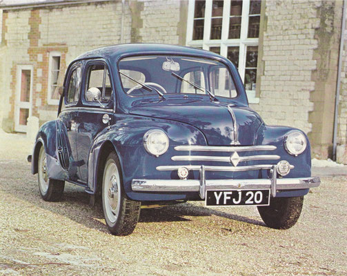 Renault 4 CV.