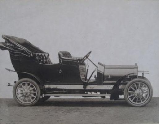 Delaunay-Belleville voor de koning van België met Botiaux carrosserie.
