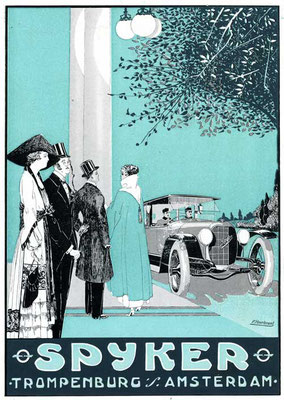 Reclame voor Spyker uit 1919.