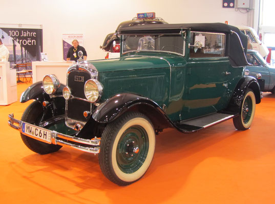 Citroën C6 (1932-1938). (Techno Classica Essen 2019)