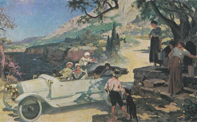 Kunstwerk van B. Lelong uit 1913.