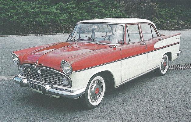 Simca Vedette Chambord uit 1957.