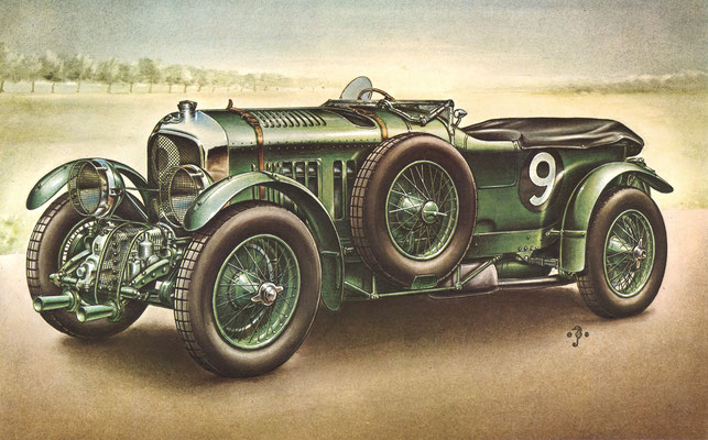Bentley 4,5L Blower, 1930.
