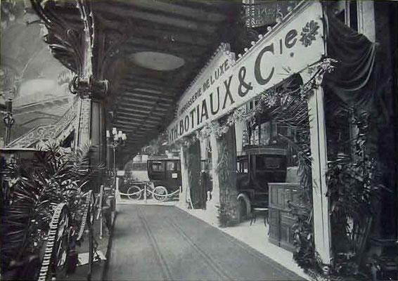 Stand van Botiaux in het Grand Palais Paris.