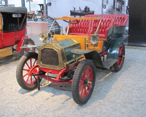 De Dion-Bouton Tonneau Type BG uit 1908 (Collection Schlumpf).