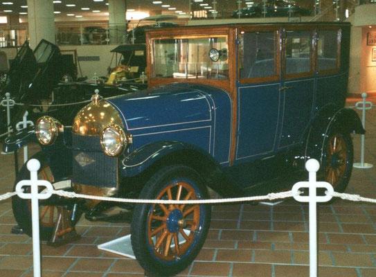 Een Bellanger uit 1921.