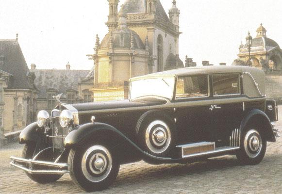 Isotta Fraschini 8 B, gebouwd van 1930 tot 1932.