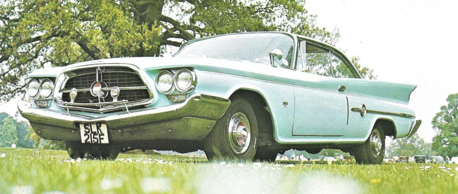 Chrysler 300F uit 1960, 6,5 liter V-8, 375 pk.