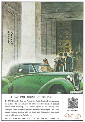 Advertentie Daimler.