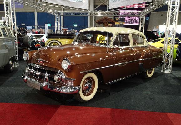 Chevrolet BelAir uit 1953. (Interclassics Maastricht 2020)