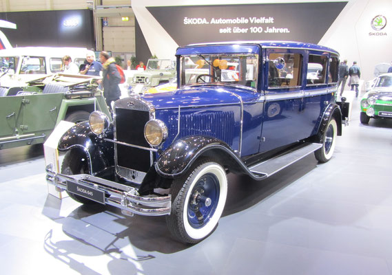 Skoda 645, gebouwd van 1929 tot 1934. (Techno Classica 2018 in Essen)