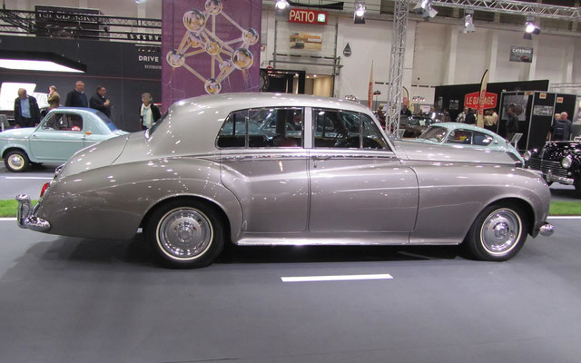 Rolls-Royce Silver Cloud I uit 1958. (Interclassics Brussels 2018)