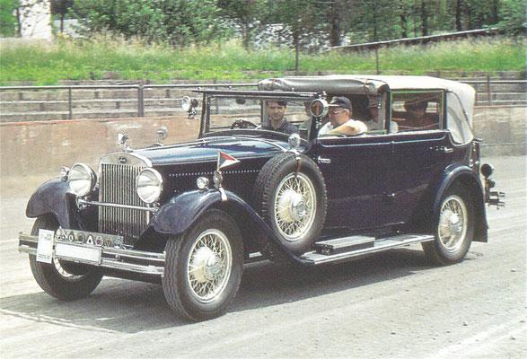 Skoda 860, gebouwd van 1929 tot 1931.
