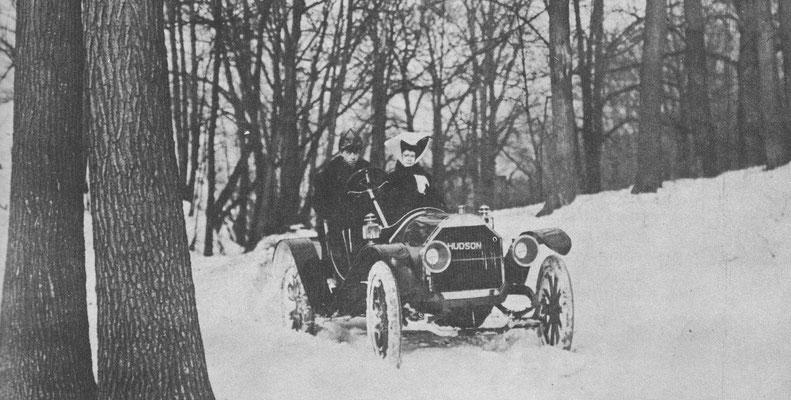 Hudson uit 1909.