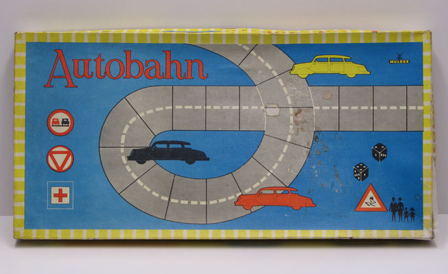 Bordspel: Autobahn. Uitgave: Mulder.