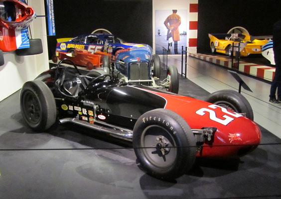 Watson Indianapolis uit 1961. (Louwman Museum in Den Haag)