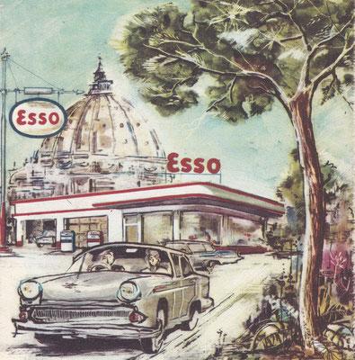 Esso Standard, Italië, 1960.