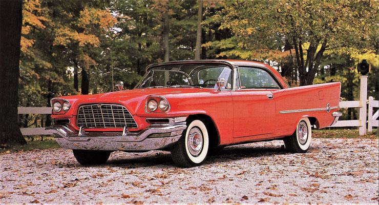 Chrysler 300C uit 1957.