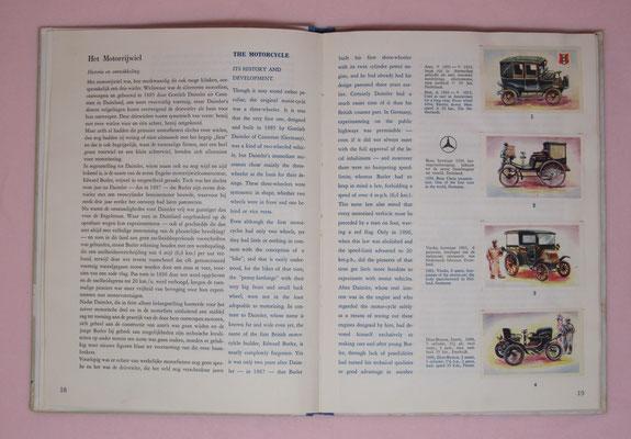 Van koets tot stroomlijn, deel 2, 1954. Geschiedenis en technische ontwikkeling van de automobiel e.d, 100 kleurenplaatjes. Uitgegeven door Koninklijke Beschuit Haust. Dit album is te koop (dubbel aanwezig), email: automobielhistorie@gmail.com