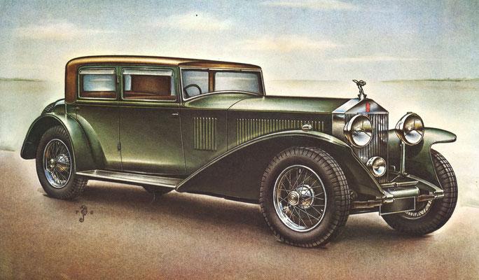 Rolls-Royce Phantom II, 1929.