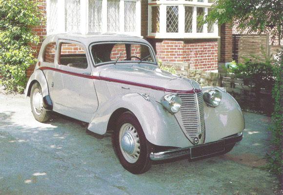 Amilcar B38 Compound (1938-1939).