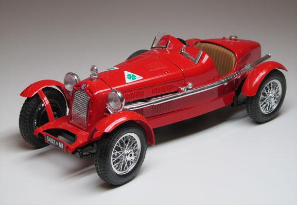 Alfa Romeo 2300 Monza, 1934, Burago, schaal 1:18.